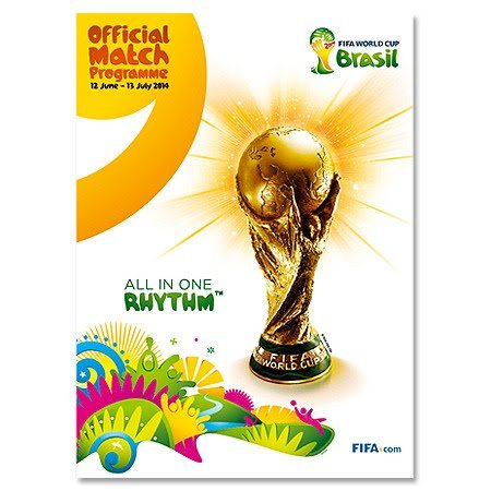 IFA WM Brasilien Offizielle Programm (12th June - 13th July) ()