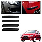 #5: Vheelocityin Car Bumper Safety Guard Protector Black For Tata Indica v2
