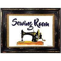 AnneSvea Sewing Room Costura nähzimmer Impresión Póster Máquina de Coser Sewing Handmade Decoración