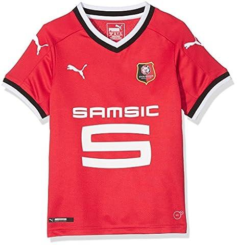 PUMA Stade Rennais Fc Replica Maillot Enfant Puma Red FR : XL (Taille Fabricant : 164)