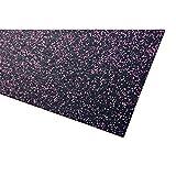 Materassino per attrezzi da palestra, spessore: 4mm, robusta protezione per il pavimento robusto, antiscivolo e fonoassorbente, Pink, 60x125x0.4cm