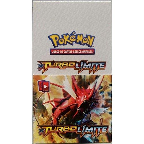 Pokemon 152-35792A. Cartas XY Turbo Límite display 18 unidades.