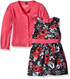 GUESS Baby Girls Cardigan Sweater and Dress Set