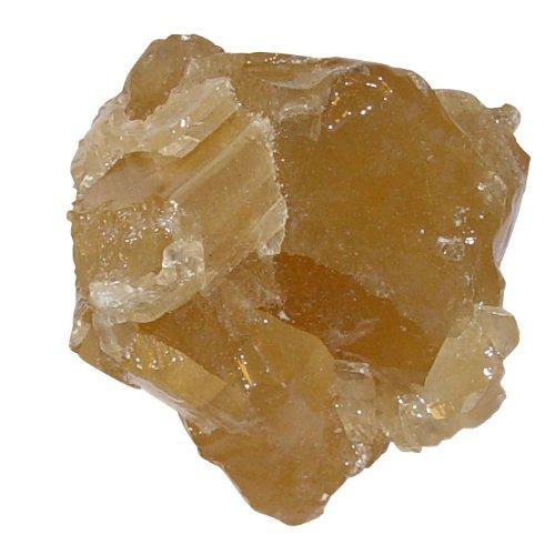 Calcit Honig Rohstein Rohstück aus Mexiko ca. 40 - 60 mm , ca. 70 - 100 Gramm.(3415)