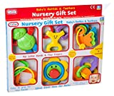 Fun Time Baby\'s Rattles & Teethers Nursery Gift Set
