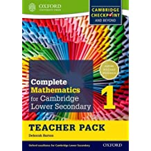 Oxford International Maths for Cambridge Secondary 1 Teacher Pack 1: For Cambridge Checkpoint and Beyond