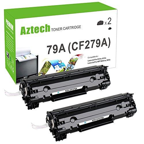 Preisvergleich Produktbild Aztech 2 Pack ersetzt CF279A 79A Tonerkartuschen 1000 Seiten für HP LaserJet Pro MFP M26nw, HP LaserJet Pro MFP M26a, HP LaserJet Pro M12w ,HP LaserJet Pro M12a