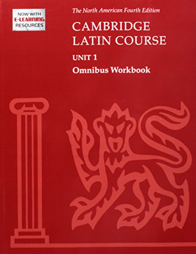 Cambridge Latin Course Unit 1 Omnibus Workbook North American Edition (2009) (North American Cambridge Latin Course)