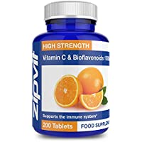 Vitamin C 1000mg with Bioflavonoid 200 Tablets
