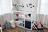 Sweet Home from Wood Holzbett Montessori aus Kiefernholz mit Latten