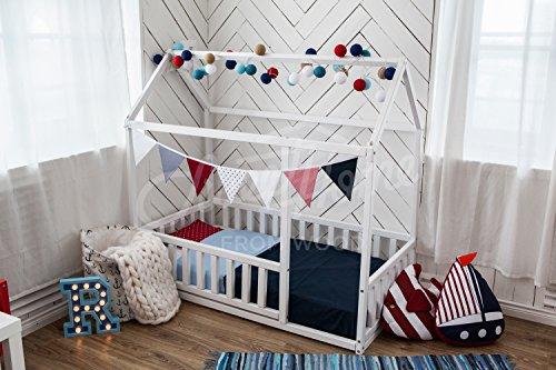 Cama montessori infantil casita