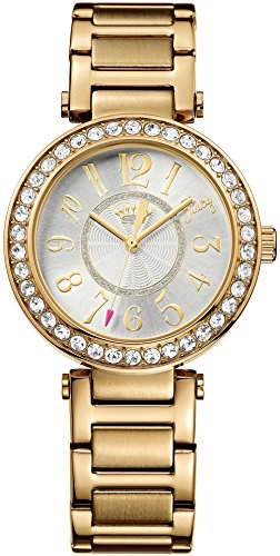 Juicy Couture 1901151 Luxe Couture Gold Damen Uhr Steel (Juicy Couture Damen-uhren)