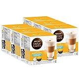 Nescafé Dolce Gusto Latte Macchiato ungesüßt, 6er Pack, 6 x 16 Kapseln (48 Portionen)