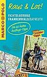 MARCO POLO Raus & Los! Fichtelgebirge, Frankenwald, Bayreuth: Das Package für unterwegs: Der Erlebnisführer mit großer Erlebniskarte -