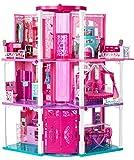 Mattel Barbie X7949 - Puppe 3-stöckige Traumvilla mit viel Zubehör