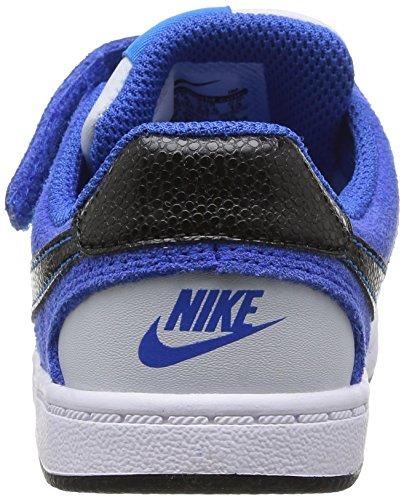 Nike Son Of Force Btv, Chaussures de running mixte enfant Multicolore (Pr Pltnm/Blk-Hypr Cblt-Tr Yllw)