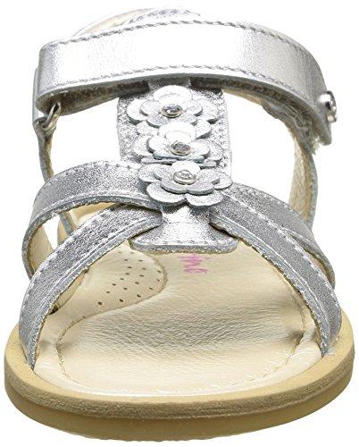 Naturino 3938, Chaussures Bébé marche bébé fille Argent