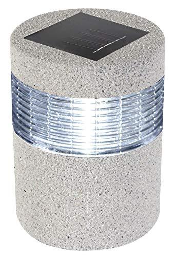 Perel 11,5x 15,5cm 11,5x 6.10-inch Durchmesser Stein Optik Solar Licht