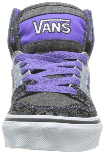 Vans Z Allred, Baskets mode filles Noir (Snake/Black/P)