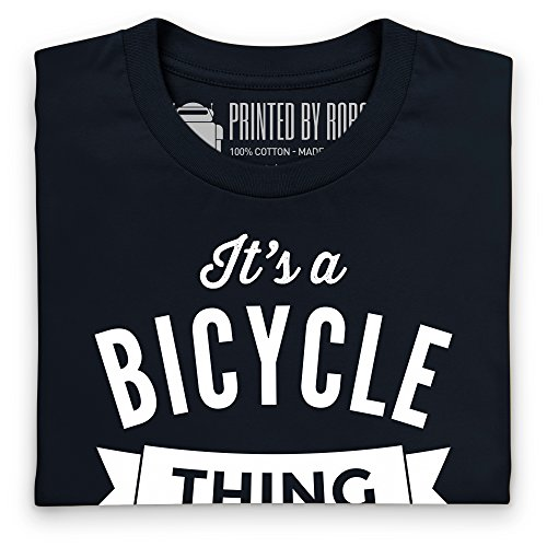 It's a Bicycle Thing T-Shirt, Herren Schwarz