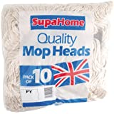 SupaHome hols No.14 PY Socket Mop rouges 10 Pack