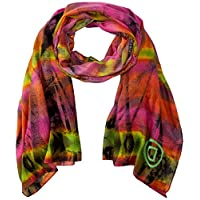 Desigual dames Foul_Green Flash sjaal, rood (Magenta Haze 3020), One Size (Manufacturer Maat: U)