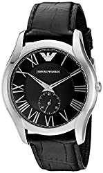 Emporio Armani Analog Black Dial Mens Watch - AR1703
