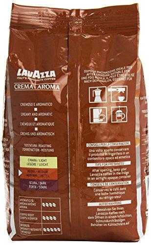 Lavazza Crema e Aroma Coffee Beans 1, 2, 3, 6 x 1kg