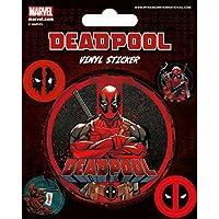 Deadpool - Marvel Vinilo Decorativo Pegatina Autoadhesivo (12 x 10cm)