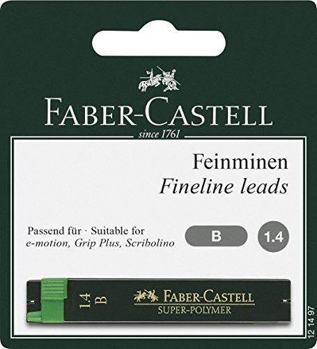 Faber-Castell – Minas para portaminas 1,4 mm (2 unidades)