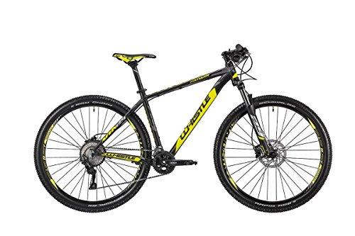 Whistle Bici Patwin 1830 29'' 10-Velocità taglia 43 nero/giallo 2018 (MTB Ammortizzate) / Bike Patwin 1830 29'' 10-Speed size 43 black/yellow 2018 (MTB Front suspension)