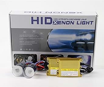 Kit Xenon Hid - H11 - Kit Xénon H11 35 Watts 6000K Ballast SLIM AC courant alternatif