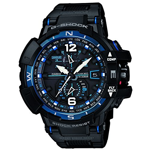 Casio Herren-Armbanduhr XL G-Shock Superior Series Digital Quarz Resin GW-A1100FC-1AER