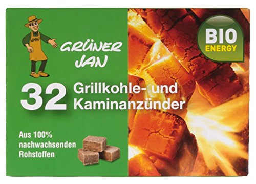 Preisvergleich Produktbild Grüner Jan 32 Grillkohle-und Kaminanzünder