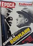 eBook Gratis da Scaricare Rivista EPOCA Anno XXIII n 1158 10 12 1972 CACCIA A BORMANN IL VICE DI HITLER (PDF,EPUB,MOBI) Online Italiano