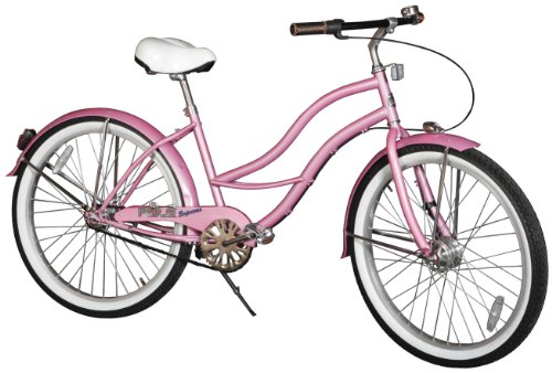 Rule Women's Elizabeth Supreme Cruiser Bike – Powder Pink, 18.5 Inch
