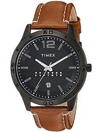 Timex Analog Black Dial Men's Watch-TW000U934