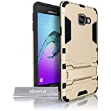 zStarLn® champagne Housse pour Samsung Galaxy A3 2016 Coque Dual Layer Hybride Tough Armor Etui