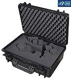 TAF CASE TAF Case 400 - Outdoor Koffer Staub- und wasserdicht, IP67 schwarz