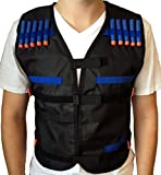 EKIND Kids Elite Tactical Vest for EVA Nerf Gun N-strike Elite Series
