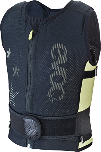 EVOC Protektorenjacke Protector Vest, black/lime, M, 7014801202