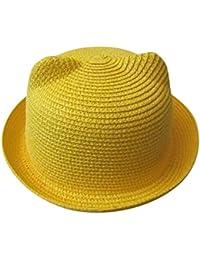 POachers Bonnets Oreilles de Chats été Casquettes Enfants Unisex Bebe  Chapeau Fille Garçon Chapeaux 31827bdf35f