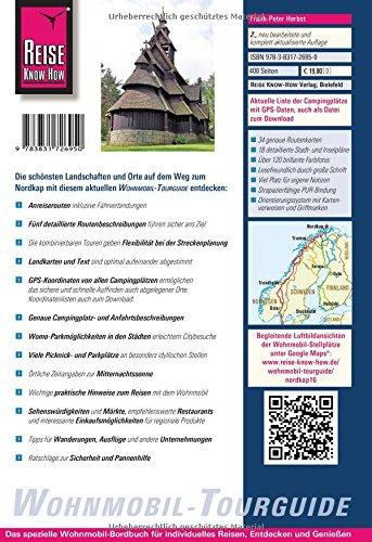 Reise Know-How Wohnmobil-Tourguide Nordkap: Die schönsten Routen durch Norwegen, Schweden und Finnland: Alle Infos bei Amazon