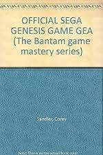 Official Sega Genesis & Game Gear de Sandler & Badgett