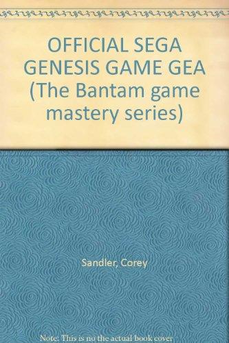 Official Sega Genesis & Game Gear