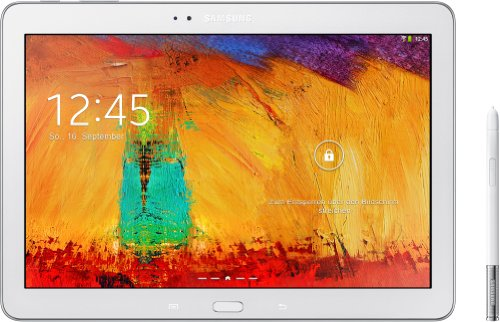 Samsung Galaxy Note 10.1 2014 Edition Tablet (25,7 cm (10,1 Zoll) Touchscreen, 3GB RAM, 8 Megapixel Kamera, 16 GB interner Speicher, WiFi, Android 4.3) weiß (Samsung Galaxy Note Tablet 16gb)