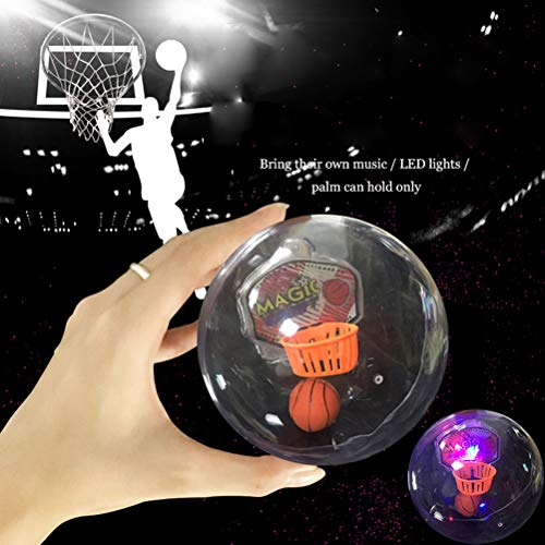 Daxoon Mini Flash Bolsillo música Baloncesto Juguete