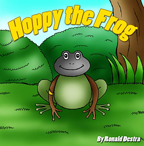 Hoppy the Frog: Frog and Princess Books About Courage and Determination (English Edition)