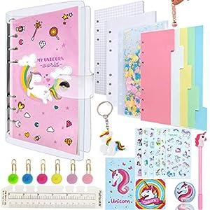 Unicorn Notebook, Estuche Unicornio Set