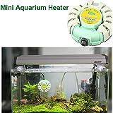 Bargain World Calentador automático de tanque de peces de mini acuario Sunsun calentadores anti- explosión para betta